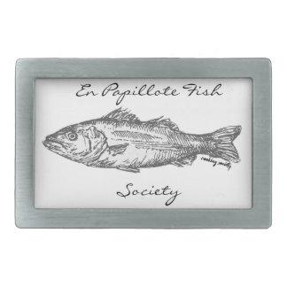 En Papillote Fish Society Belt Buckle