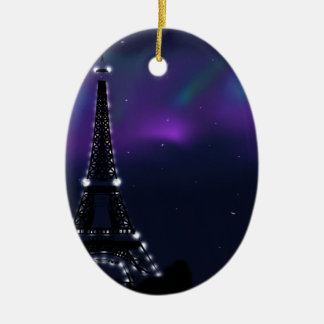 En Paris Ceramic Ornament