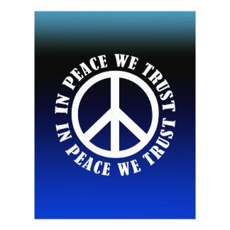 En paz confiamos en tarjetón