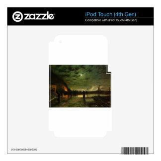 En peligro de Juan Atkinson Grimshaw Calcomanías Para iPod Touch 4G