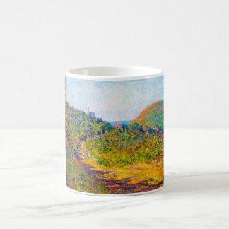 En Pequeno-Dalles, Claude Monet 1884 fresco, Taza De Café