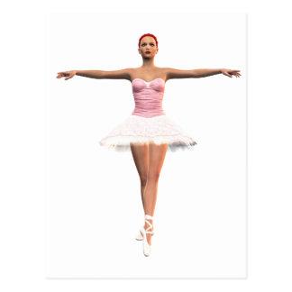 En Pointe Ballet Postcard