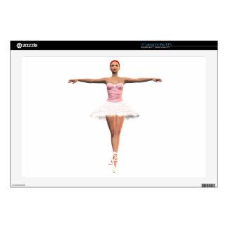 "En Pointe Ballet Skins For 17"" Laptops"