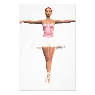 En Pointe Ballet Stationery