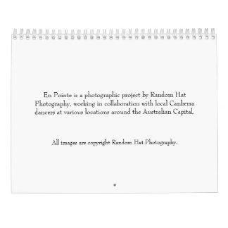 En Pointe Calendar
