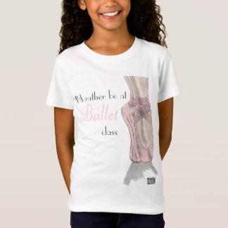 En pointe T-shirt