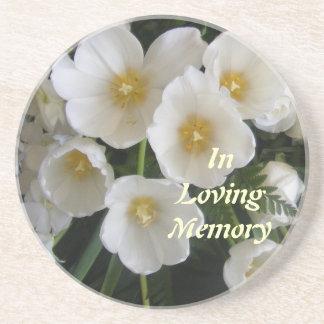 En práctico de costa cariñoso de la memoria posavasos personalizados