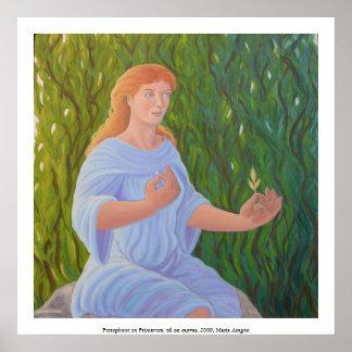 En Primavera de Persephone Póster