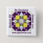 "En Provence Button<br><div class=""desc"">Pinback button for the En Provence mystery</div>"