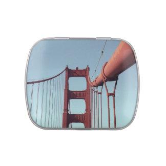En puente Golden Gate Frascos De Caramelos