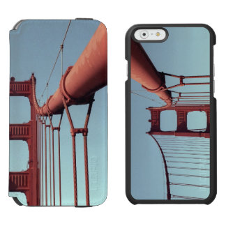 En puente Golden Gate Funda Billetera Para iPhone 6 Watson