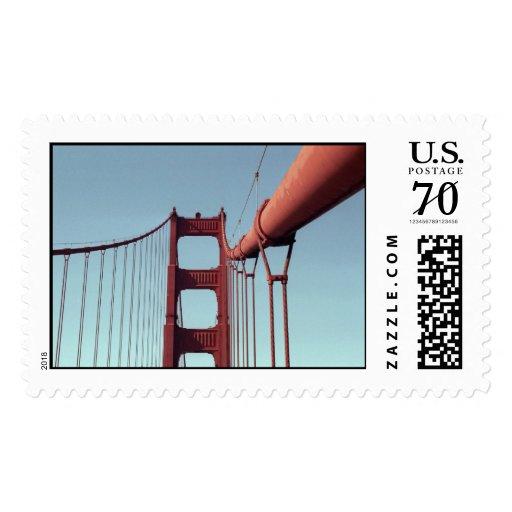 En puente Golden Gate - grande Sello
