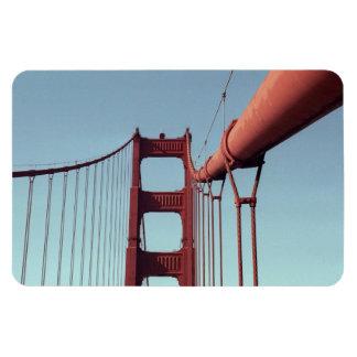 En puente Golden Gate Imán De Vinilo
