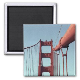 En puente Golden Gate Imán Cuadrado