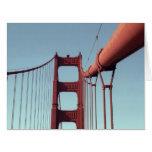 En puente Golden Gate Tarjetas