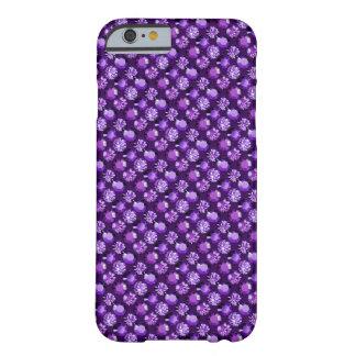 en púrpura violeta Amethyst Funda Para iPhone 6 Barely There