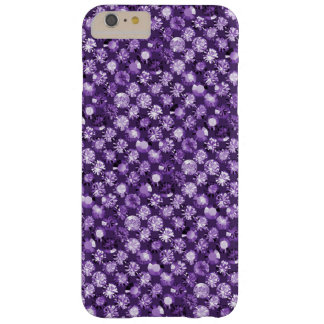 en púrpura violeta Amethyst Funda De iPhone 6 Plus Barely There