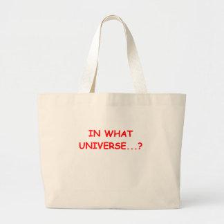 en qué universo bolsa tela grande