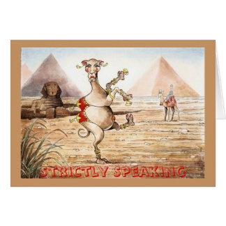 En realidad camello tarjeta de felicitación