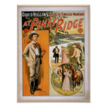 En Ridge penoso, 'ocioso de las montañas de Tennes Posters