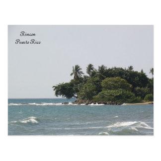 En Rincon Puerto Rico de Vista de Playa Postales