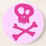 En rosa para Halloween - Posavasos Manualidades