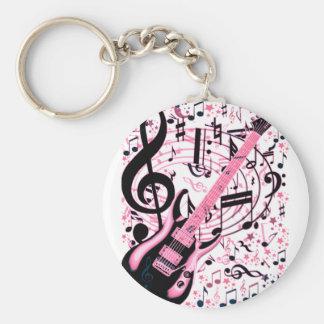 En rosa, roca y Roll_ Llavero