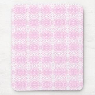 En rosa alfombrilla de ratón