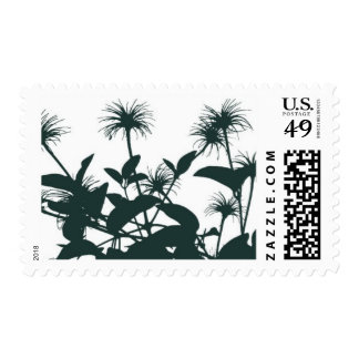 En Route Floral A by Ceci New York Stamp