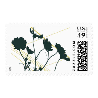 En Route Floral D by Ceci New York Stamp