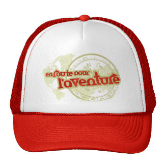 en route pour l'aventure travelers adventurer hat