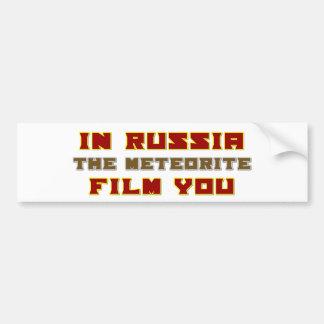 En Rusia la película del meteorito usted Pegatina Para Auto