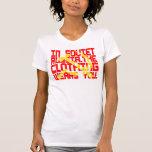 En Rusia soviética, la ropa le lleva Camiseta