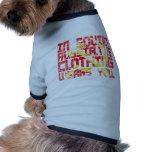 En Rusia soviética, la ropa le lleva vintage Camisetas De Mascota