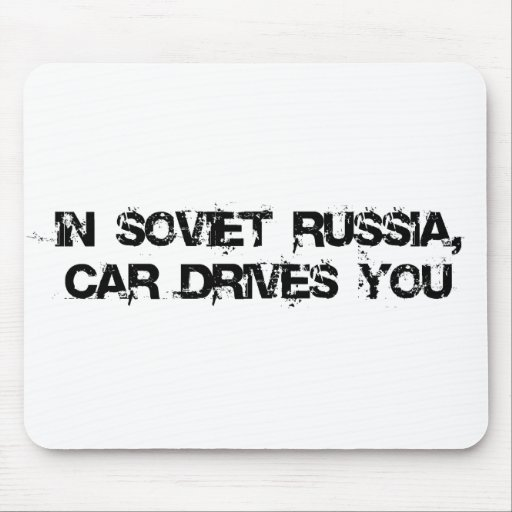 En Rusia soviética, Tapetes De Raton