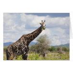 En safari en Tanzania, África Tarjeton