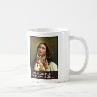 En segundo lugar a la tentación pasada de Cristo Tazas De Café