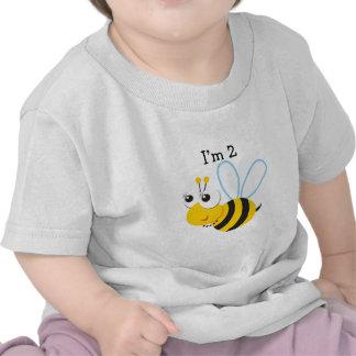 en segundo lugar+cumpleaños+bebé+muchacho, segundo camisetas