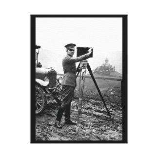 En segundo lugar Lieut. Imagen de George E. Lienzo Envuelto Para Galerias