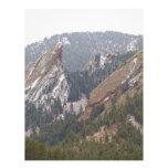 En segundo lugar y tercer Flatirons Boulder Colora Membretes Personalizados