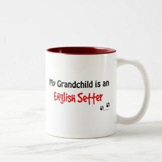 En Setter Grandchild Mugs