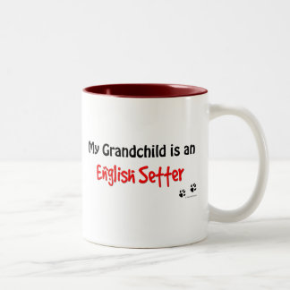 En Setter Grandchild Two-Tone Coffee Mug