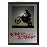 ¡En su bici! Tarjeta De Felicitación