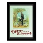 En su bici tarjetas postales