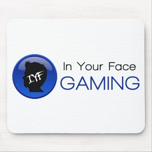 En su juego Mousepad de la cara Alfombrilla De Ratón