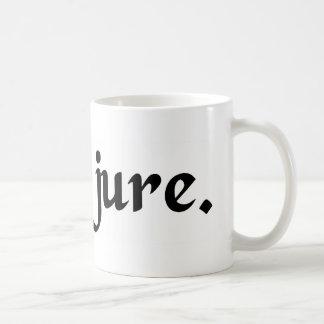 En su lugar legítimo tazas de café
