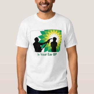 En su oído BP Camisas