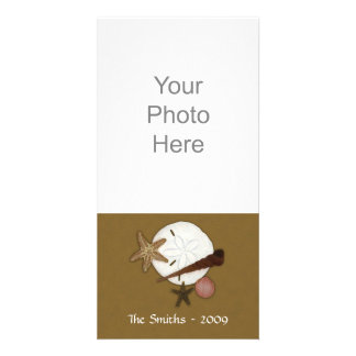 En tierra lavada tarjeta de la foto tarjetas fotográficas personalizadas