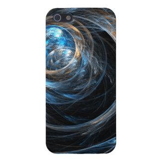 En todo el mundo arte abstracto iPhone 5 fundas