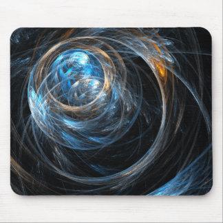 En todo el mundo arte abstracto Mousepad Alfombrilla De Ratones